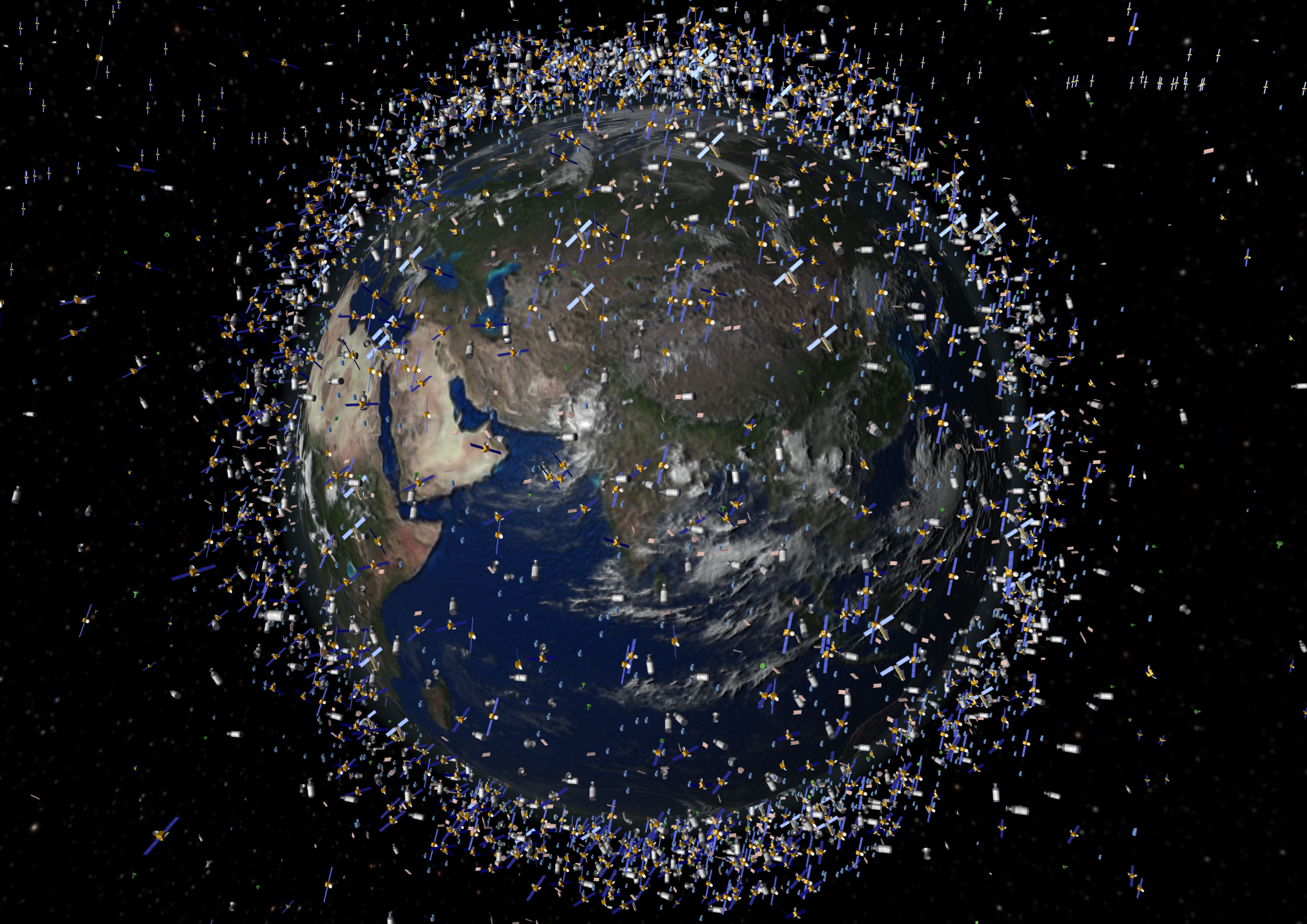 Space junk and visual lies political math for Space space